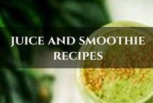 Juice And Smoothie Recipes / Real food JUICE, SMOOTHIE and DRINK ideas!