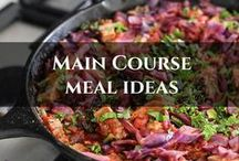 Main Course Meal Ideas / All gluten free, grain free and refined sugar free