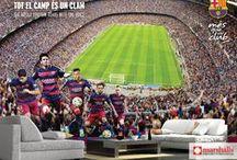FCBarcelona Signature Wallcoverings