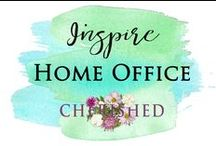 HOME: Office Design at Home by Talented People / Want some home office inspiration for your work at home, this board will be exactly that!