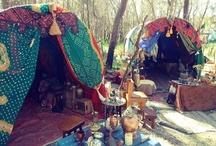 A Gypsy Bohemian traveler style.