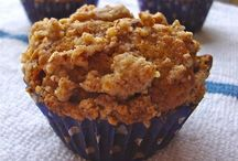 Muffins and Quick Breads / Any quick bread can be made a muffin, and vice-versa. / by Ashley Nebel