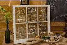 Wedding Decor Ideas / by The Farmhouse Weddings LLC