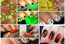Seasonal and Holiday Nails / nail art, nail designs, nail polish, nails, manicure, pedicure / by Ashley Nebel