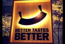 Better Tastes Better / Vegetables, fruits, cheese, leafy greens and other choppings that just taste better