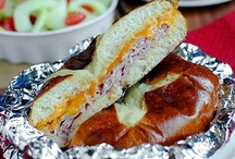 Recipes: Sandwiches / by Sarah Rickard