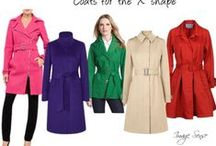 """Fashion for the """"X"""" shape / How to dress for the X body shape (hour-glass)"""