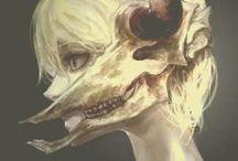 Skulls / dark & macabre