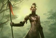 Concept Art & Character Design