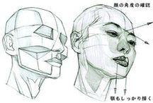 art tutorials / refs