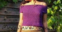 Crochet clothing - written pattern / You can purchase all my written patterns here http://www.ravelry.com/designers/matinee-maya-imchum