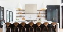 LB Modern Kitchen Inspo / Inspiration images and pieces for the kitchen of the Long Beach Modern project.