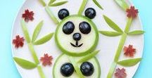 Fun food presentation for kids / Tips, tricks and ideas on creating fun food for kids