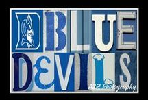 blue devils / by abby mccreery
