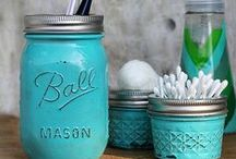Mason Jar Love / My love for mason jars is neverending. / by Tina Butler {Mommy's Kitchen}