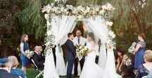 Wedding Ceremony / Wedding ceremonies created and designed by Amy Burke Designs