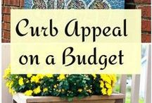 Porch & Curb Appeal / Curb appeal ideas.  / by Tina Butler {Mommy's Kitchen}