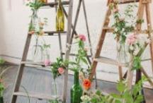 Rustic-chic weddings / by Laughing Lady Flower Farm