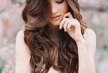 wedding hair/makeup / by Nickey Guertin