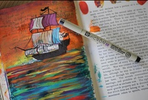 INSPIRED: Journaling/Doodling / by Jenny On The Spot