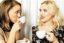 Famous Tea Drinkers / Friends and Famous Faces enjoying the best drink there is.