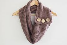 Scarves / Fun scarves to make / by Jen West @ PinkWhen