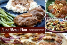 Menu Planning & Menu Plans / by Mommy's Kitchen - Tina Butler