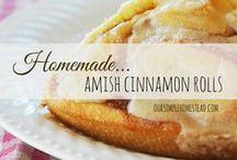 Amish Recipes & Decor / Amish and Mennonite recipes, decor and tips.
