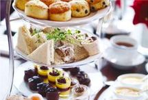 Afternoon Tea / A very British tradition, afternoon tea was first taken in the mid 1800's to fill the gap between a light lunch and an increasingly late dinner. Anna Maria, 7th Duchess of Bedford is credited with turning afternoon tea into a social occasion.