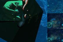 """Distant Astrology series"" DigitalPaint by Monica Alonso-Lamberti December 2014 / DigitalPaint and Collages by Mónica Alonso-Lamberti....December 2014"