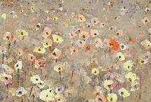 De la painture: la nature, le couleur et le fleures