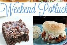 Weekend Potluck Features / All the recipes that are featured at one of the best link parties. Come on over and party with us every week starting on Fridays. All links are shared on all 5 blogs. www.mommyskitchen.net