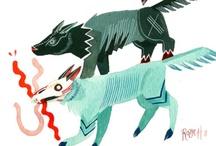 wolves / by Linus Limbert