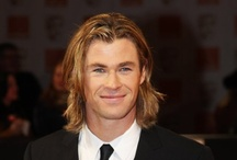 Chris Hemsworth  / Because he need a board all to himself  / by Veronica Mahan