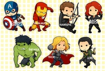 The Avengers  / by Veronica Mahan