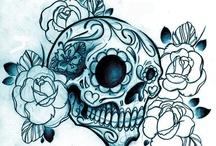 Dia de los Muertos  / The day of the dead, Sugar Skulls!...  / by Veronica Mahan
