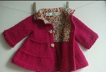 Enfants couture tricot / by Chez Kérouézée