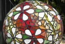 Mosaics - Bowling Balls / by Becky McInturf