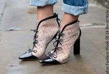 Fashion Week Street Style Inspiration / Street Style Shoes