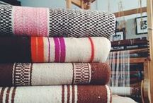 Mantas alentejanas / The hand woven blankets of Alentejo and Algarve