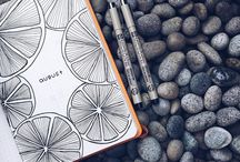 Bullet Journals and Mind Mapping / I like to organize my note with mindmap also list what i want to do on my bullet journals