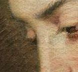 Gigapixel :  Regards ● Eyes / Qu'ils vous fixent ou soient levés vers le ciel, plongez dans les regards peints par Cranach, Rubens, Renoir…  ● Gazing at you, looking at the sky, dive into the eyes painted by Cranach, Rubens, Renoir…