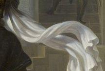 Gigapixel :  Tissus ● Fabrics / Couleurs, motifs et matières vous invitent au cœur des tableaux et du savoir-faire des peintres, de Biagio d'Antonio à Dagnan-Bouveret.  ● Colors, patterns, fabrics invite you at the heart of the paintings and at the core of the artists' talent, from Biagio d'Antonio to Dagnan-Bouveret.