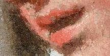 Gigapixel : Bouches ● Mouths / Souriantes, fines, charnues, les bouches de nos tableaux en gigapixel ont plein de choses à vous dire ! ● Smile, thin, fleshy, the mouths of our gigapixel paintings have plenty to say!