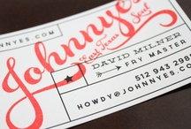 SWEET TYPOGRAPHY / Kickass typography. Duh! / by Jayne Worth