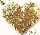 Dripping in Golden Hearts / Is to have a Heart filled with the love of many Golden Hearts