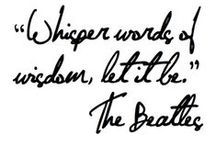 Whisper Words Of Wisdom...Let It Be...Let It Be. II