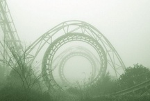 Abandoned Beauties  / This board is my collection of abandoned amusement parks. I find them fascinating and I desire to visit as many around the world as possible! These pictures represent the day the fun stopped.  / by Ashley Powell