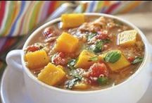 Soup-erb Suppers  / Soups are my favorite cool weather, one pot meals - especially made trim and terrific!