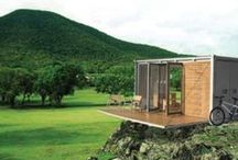 Container homes / Ideas that can work for containers / by Siriporn Falcon-Grey